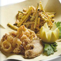Blu Pesca Srl - le nostre ricette - frittura di pesce di laguna