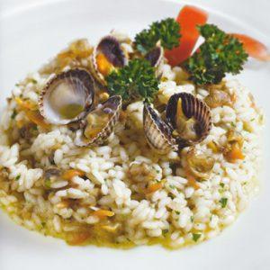 Blu Pesca Srl - le nostre ricette - risotto ae cape tonde